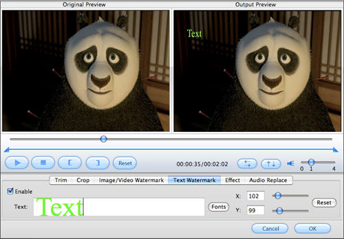 how to cut video file on mac osx