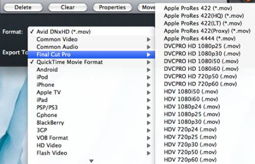 Pavtube added presets for Final Cut Pro and QuickTime Movie