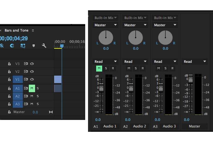 Import Video Clips to Premiere Pro CC No Audio