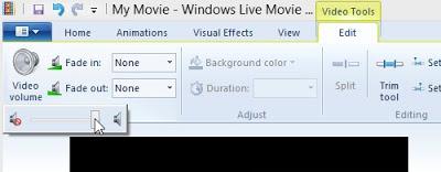 no audio in windows movie maker