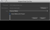 FCP Export