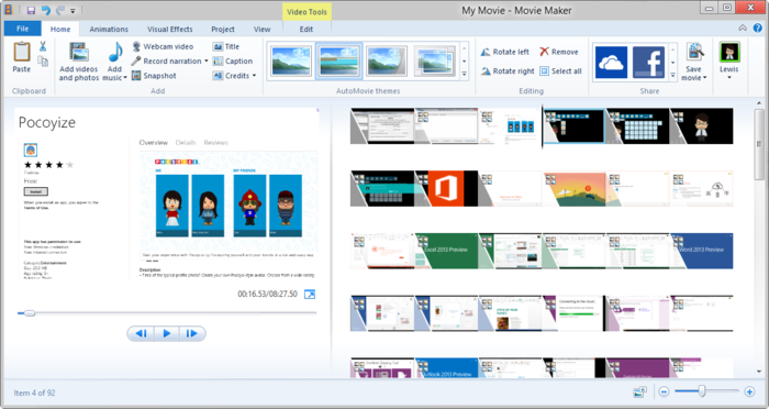 How to fix a codec required error in windows movie maker 6. 1.