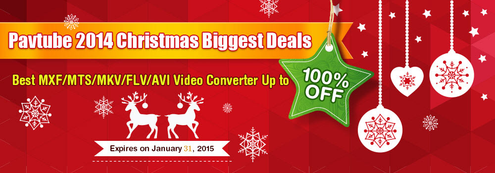 Pavtube 2014 Thanksgiving Deals - Up to 100 % OFF Gifts
