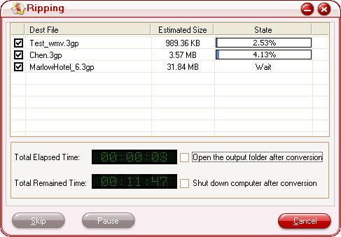 Video to 3GP Converter